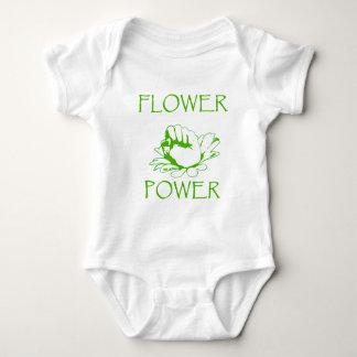 """Flower power "" Playera"