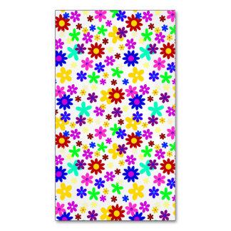 FLOWER POWER ~.png grande transparente Tarjetas De Visita Magnéticas (paquete De 25)