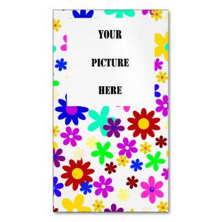 FLOWER POWER ~.png transparente Tarjetas De Visita Magnéticas (paquete De 25)