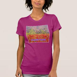 flower power poppy field t shirt