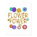 Flower power postal