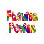FLOWER POWER POSTALES
