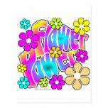 Flower Power Postcard