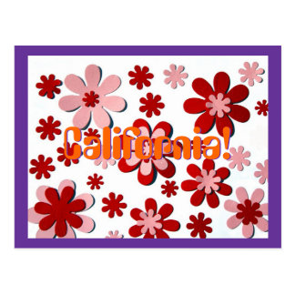 Flower Power! Postcard