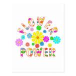 FLOWER Power Postcards