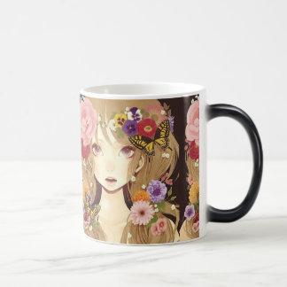 flower power princess coffee mugs