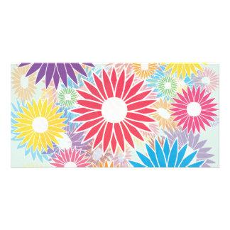 Flower Power Print Card