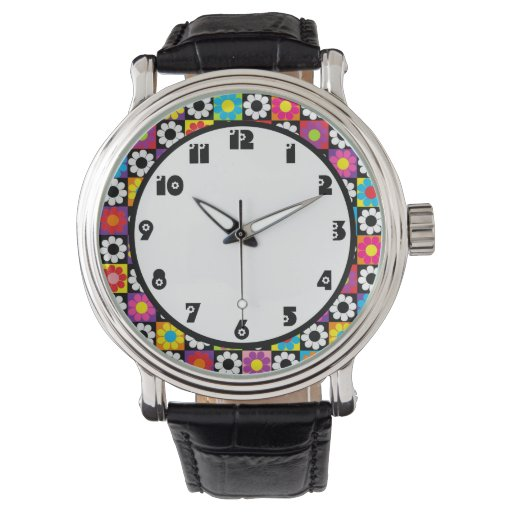 Flower power relojes de mano