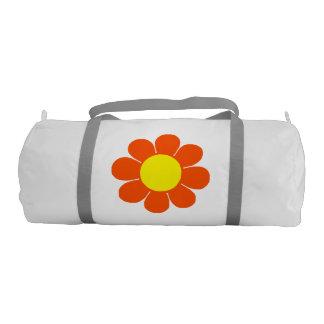 Flower power retro bolsa de deporte