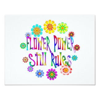 Flower Power Rules Card