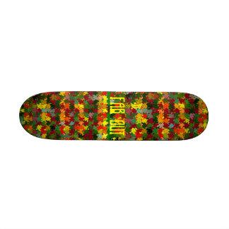 Flower Power Skate Board!