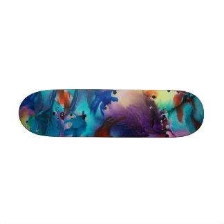 Flower Power Skateboard Deck