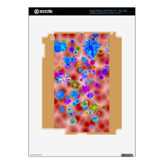 Flower Power Skins For iPad 3
