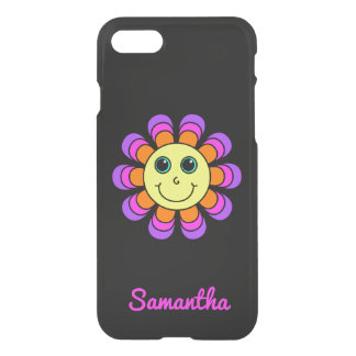 Flower Power Smiley Face Personalized iPhone 8/7 Case