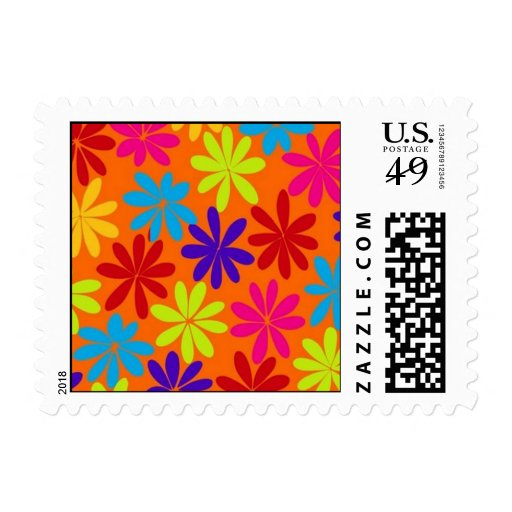 Flower Power Stamps