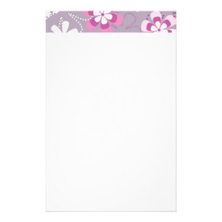 Flower Power Stationery