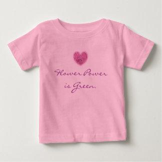 Flower Power T shirt for Babies.