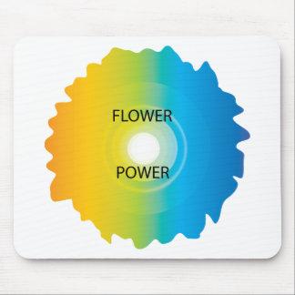 flower power alfombrillas de raton
