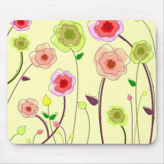 Flower power alfombrilla de raton