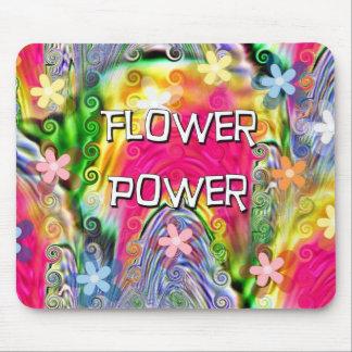 Flower power alfombrilla de ratones