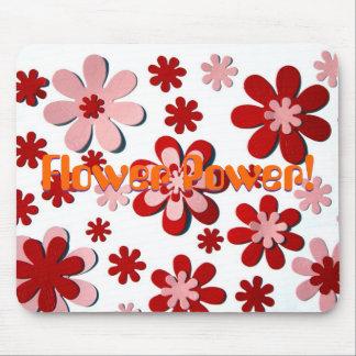 ¡Flower power! Alfombrillas De Raton