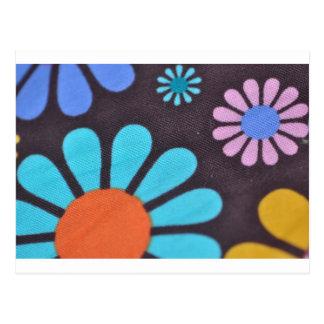 Flower power tarjetas postales
