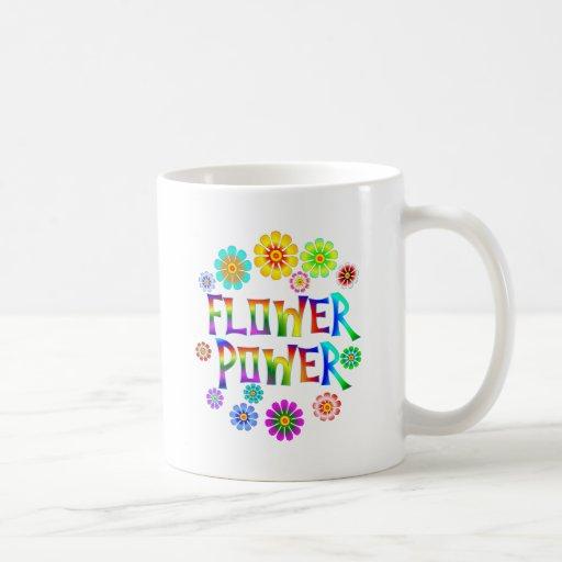 FLOWER POWER TAZA