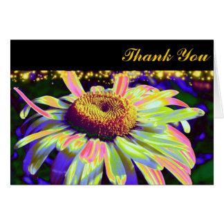 Flower Power Thank You Cards