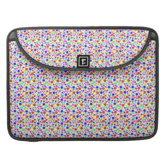 FLOWER POWER transparent (pick a background color) MacBook Pro Sleeves