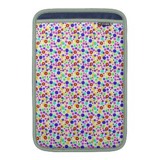 FLOWER POWER transparent (pick a background color) MacBook Sleeve