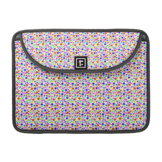 FLOWER POWER transparent (pick a background color) Sleeve For MacBook Pro