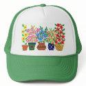'Flower Power' Trucker Hat hat