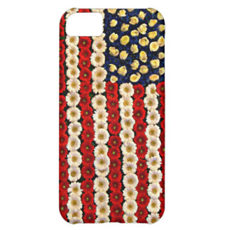 Flower Power US Banner Cover For iPhone 5C