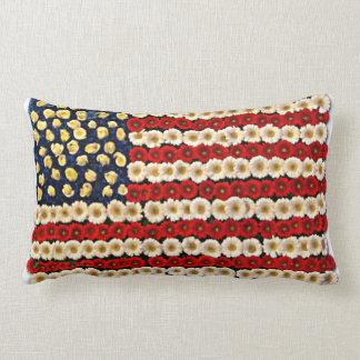Flower Power US Banner Pillows