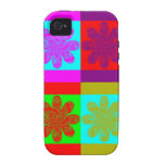 Flower Power Vibe iPhone 4 Cases