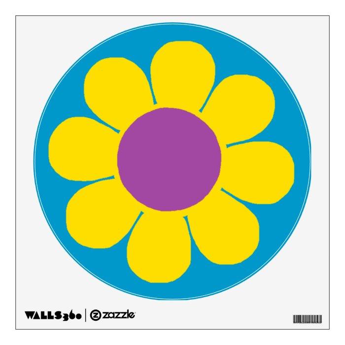 Flower Power Wall Sticker