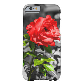 Flower Power with red roses Barely There iPhone 6 Case