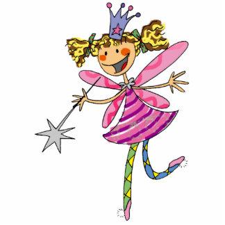 Flower princess fairy cutout