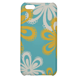 Flower Print Case For iPhone 5C