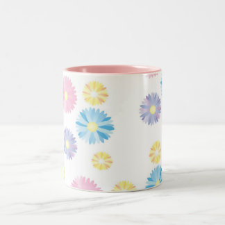 Flower Print Mug