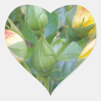 Flower Product Heart Sticker