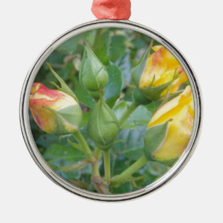 Flower Product Metal Ornament