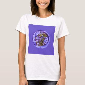 Flower purple in the globe T-Shirt