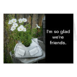 Flower Purse Friend Card