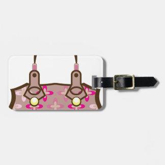 Flower Purse Luggage Tag
