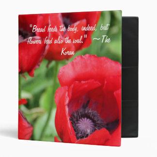Flower Quotation Binder 1