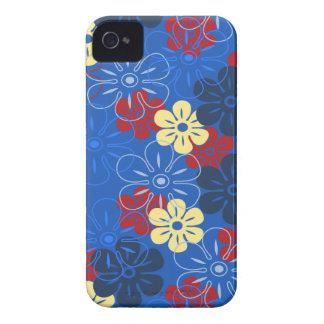 Flower Rain Hawaiian iPhone 4 Cases