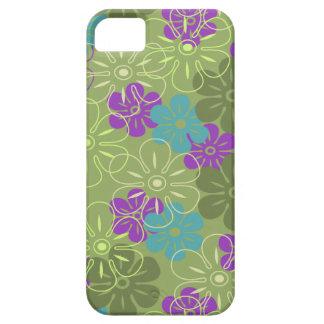 Flower Rain Hawaiian iPhone 5 Cases