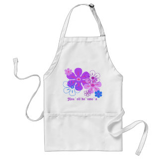 Flower Rain Tropical Chef's Aprons