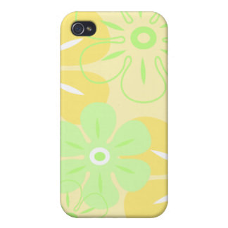 Flower Rain Tropical Cover For iPhone 4